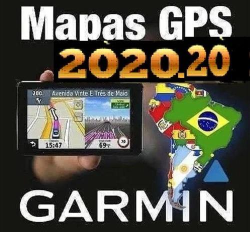 Mapa Chile Argentina Brasil Colombia Peru Junio 2018 Garmin