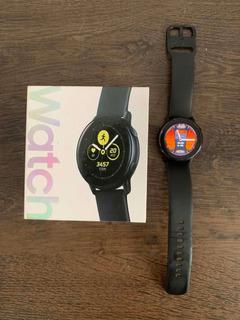 Galaxy Watch Active Completo Na Caixa