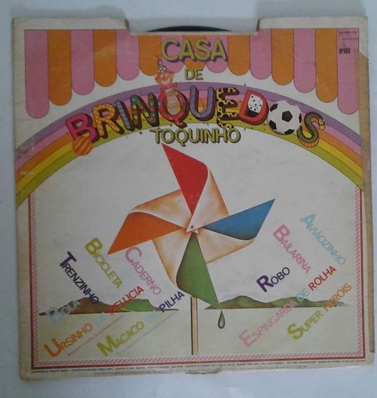 Disco Vinil Toquinho Casa De Brinquedos