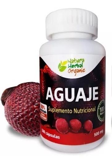 Aguaje Autentico Original Homonas Naturales