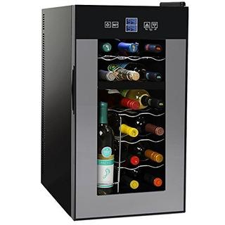 Nutrichef Pktewcds1802 18 Botellas Enfriador De Vino Termoel