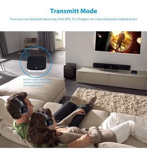 Bluetooth Para Doble Audifono Aptx Low Latency