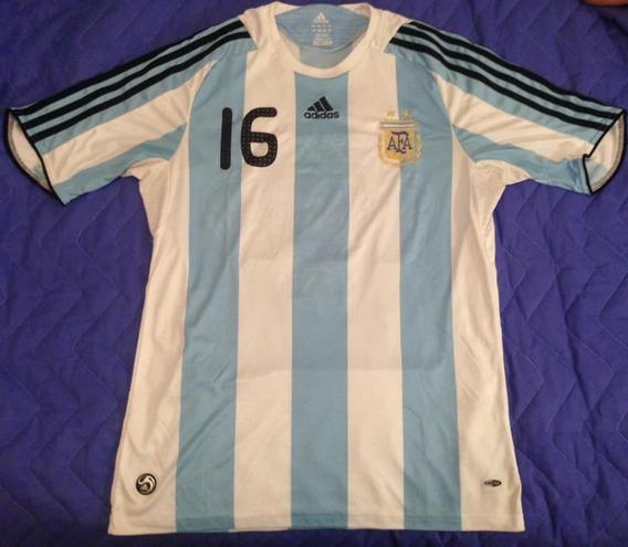 Camiseta De La Seleccion Argentina adidas 2009 Agüero #16