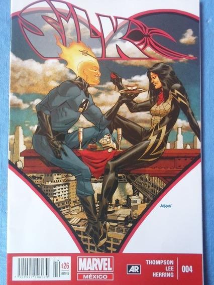 Comic Silk #004 Editorial Televisa