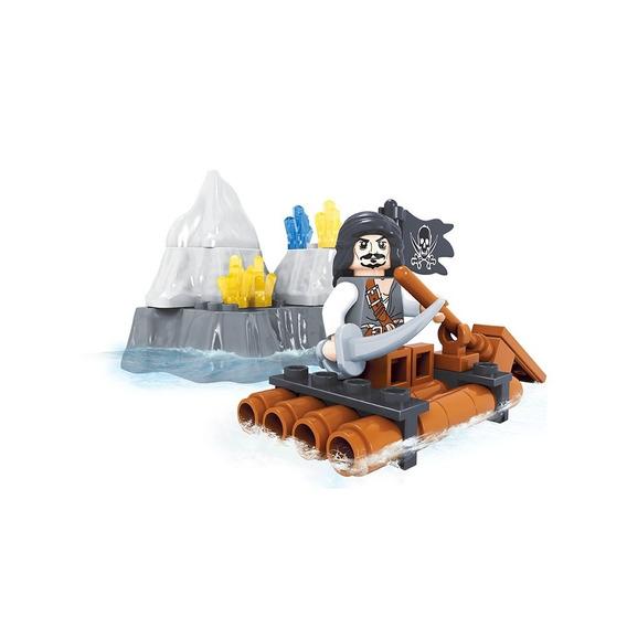 Brinquedo Para Montar - Jangada - 48 Peças