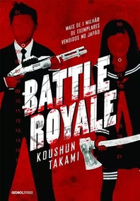 Livro Battle Royale - Koushun Takami ( Usado)