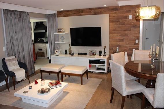 Lindo Apartamento Com Sala Amplida 2 Dormitórios Com 2 Vagas Livres De Garagem. - Ap0487