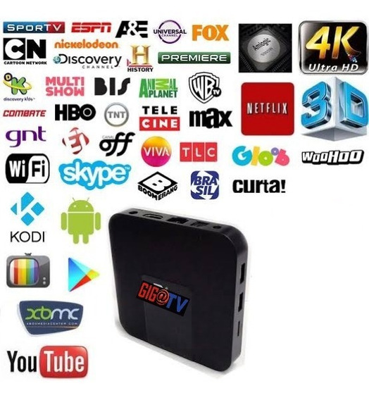 Tv Box Vitalicia. 30mil Conteúdos