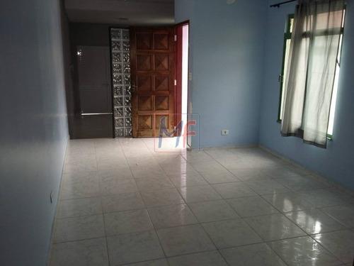 Imagem 1 de 9 de Ref 2125 - Sobrado Na Vila Aurora Com 4 Dorms Sendo 1 Suíte, 3 Wc, 4 Vagas, Churrasqueira E Área De Serviço. Aceita Permuta E Propostas. - 2125