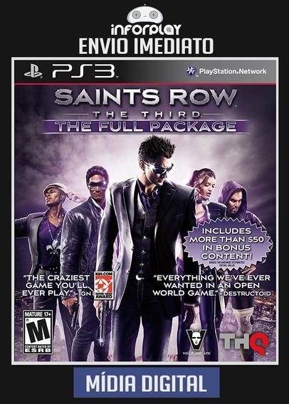 Saints Row 3 The Third The Full Package Ps3 Psn Envio Rápido