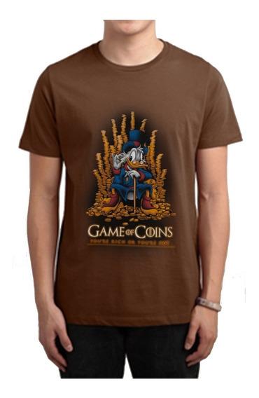 Playera Camiseta Game Of Thrones Rico Mcpato Pato Aventuras