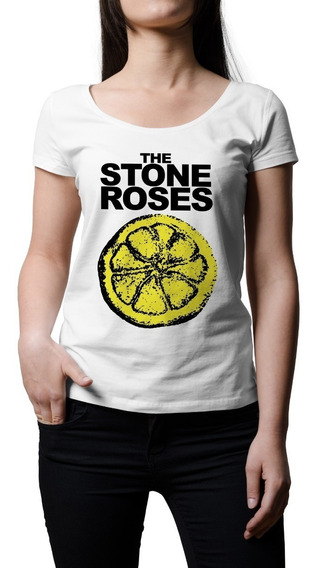 Remera Mujer Rock Stone Roses | B-side Tees