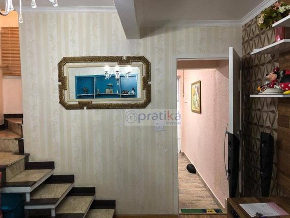 Sobrado Com 2 Dormitórios À Venda, 101 M² Por R$ 600.000 - Cidade Mãe Do Céu - São Paulo/sp - So0635