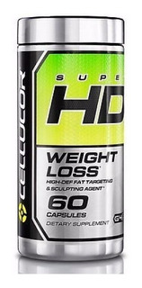 Super Hd 60 Caps 100% Original Eua Importado - Cellucor