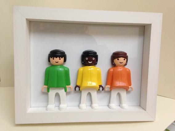 Cuadro Playmobil Trio