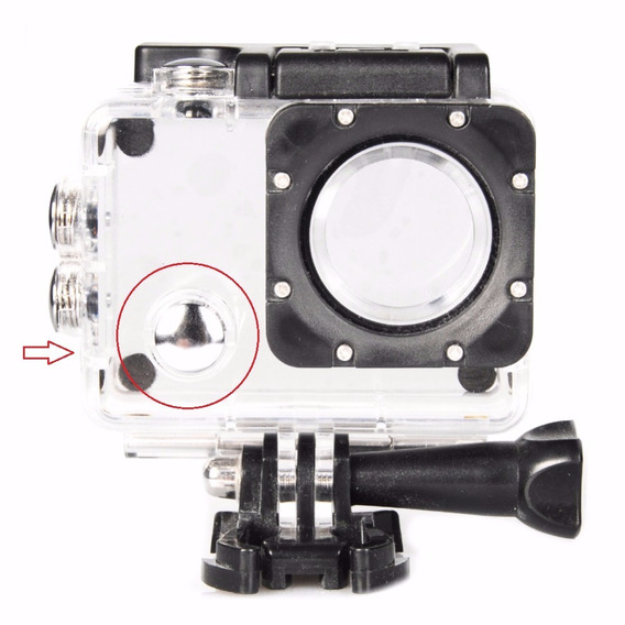 Case Estanque Camera Ação Sports Cam Action Wifi 4k Sj6000