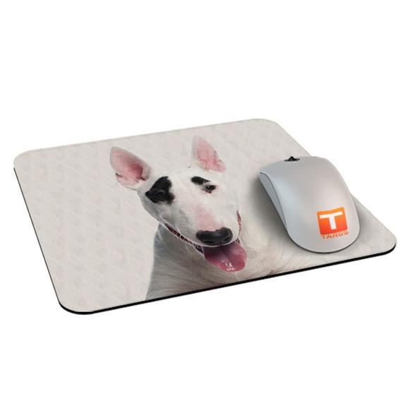 Mouse Pad Cachorro Bull Terrier Pirata 21 Cm