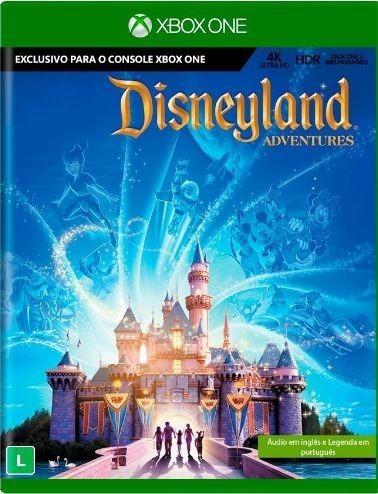 Disneyland Adventures Xone Mídia Física Lacrado Leg Pt Br