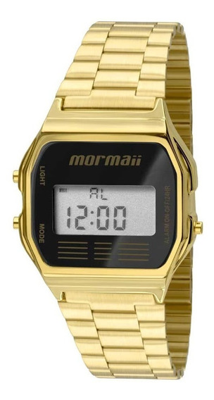 Relógio Mormaii Feminino Mojh02ab/4p Dourado Aço
