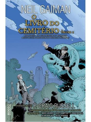 Imagem 1 de 1 de O Livro Do Cemitério Vol.2-história Em Quadrinhos