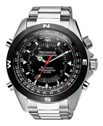 Relógio Technos Masculino Performance Skydiver T20560/1p