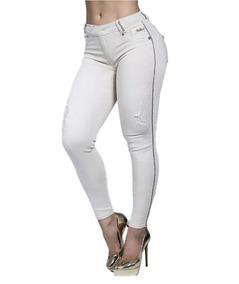Calça Jeans Feminina Cigarrete Pit Bull Original Ref. 28861