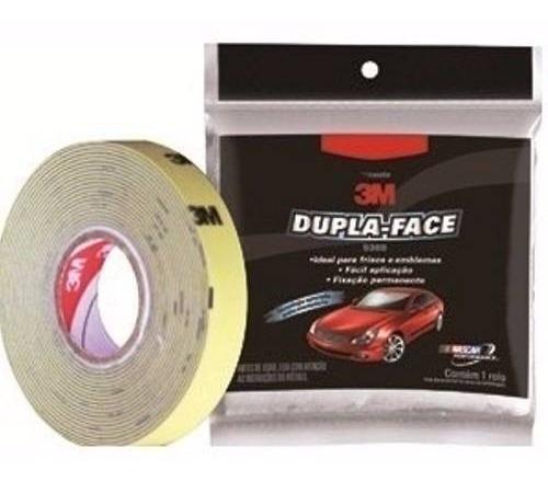 Fita Dupla Face Automotiva 5369 Cinza 12x3mts 3m