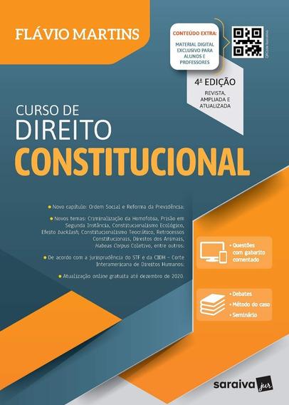 Curso De Direito Constitucional - Flávio Martins / 2020