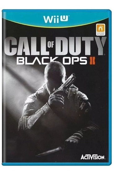 Call Of Duty Black Ops 2 Wii U Mídia Física Usado