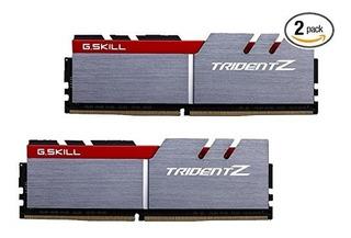 G.skill 16gb (dual Channel Kit) De Memoria Ddr4 3200mhz Trid