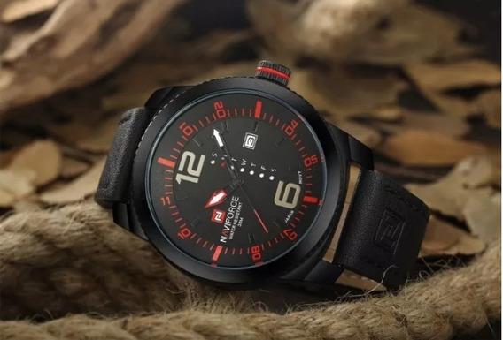 Relógio Original Masculino De Pulso Naviforce Prova D
