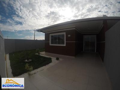 Casa Para Venda Em Fazenda Rio Grande, Eucaliptos-greenfield, 2 Dormitórios, 1 Banheiro, 1 Vaga - 919
