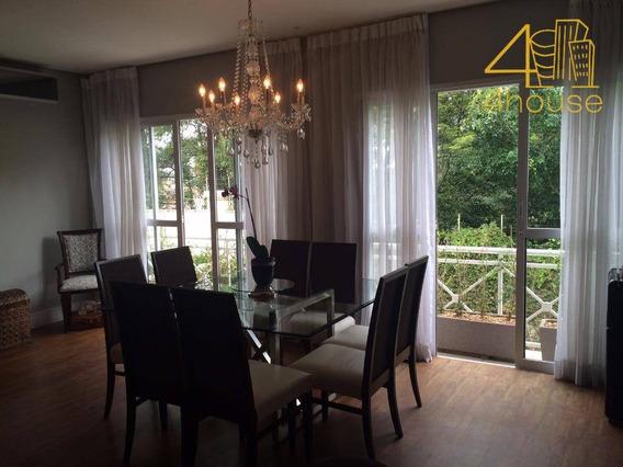 Venda Casa Em Condomínio Panamby 320 M 3 Suites, 3 Vagas - Ca0146