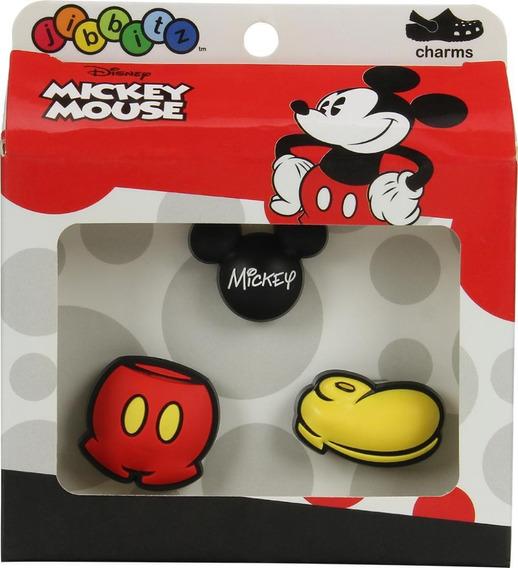 Jibbitz Mickey 3 Pack