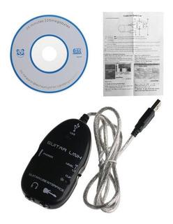 Cable Adaptador Interfaz Usb Para Guitarra Eléctrica