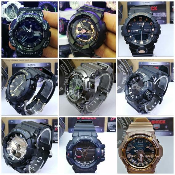 Reloj Casio G-shock Hombre Resistente Impactos Y Sumergibles