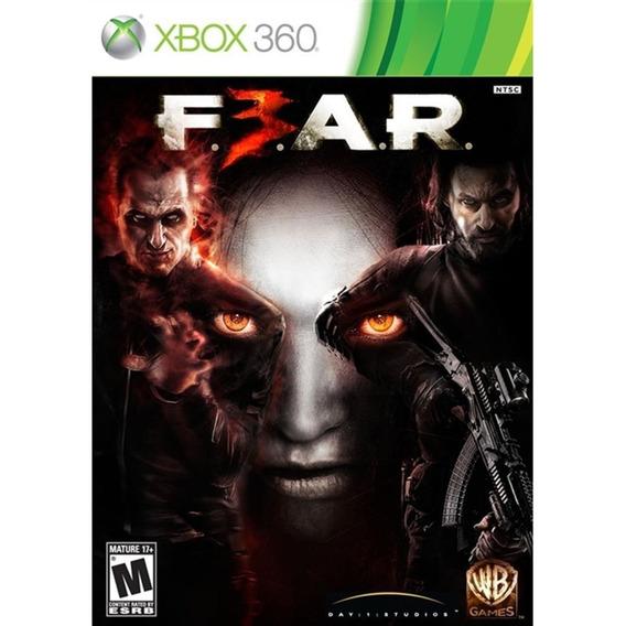 Fear 3 Xbox 360 Mídia Física Novo Lacrado Original