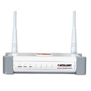 Intellinet 300n 4puertos Router Inalámbrico Con 2dbi Anten