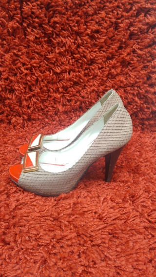 919 Sapato Estilo Peep Toe, Leila