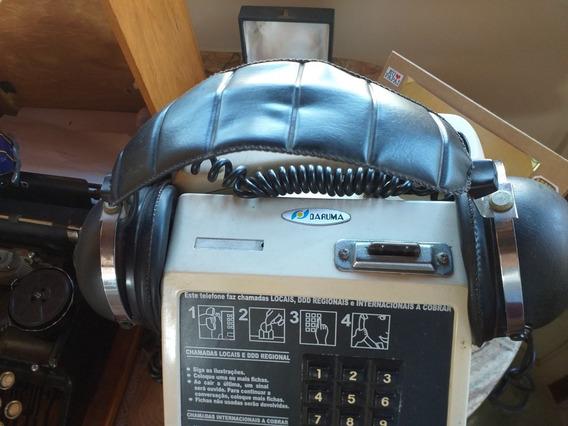 Fone De Ouvido Antigo Magnavox Ph 100 Funcionando