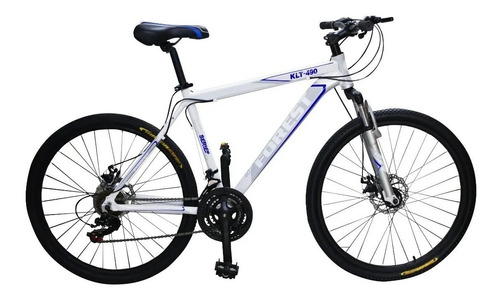 Bicicleta Mountain Bike Rodado 29 Forest Aluminio Shimano Cambios Frenos Disco Suspension Llanta Doble Varon Mujer Happy