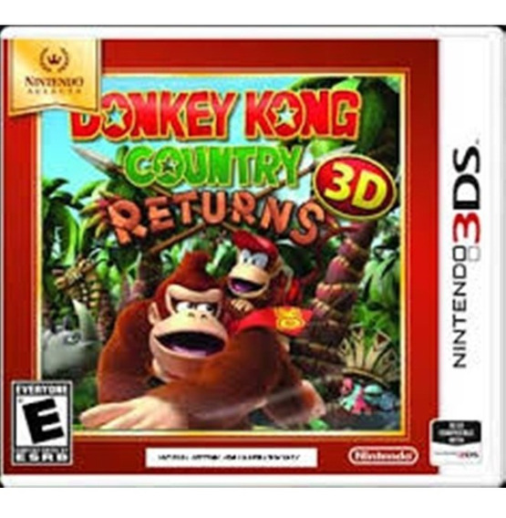 Nintendo Selects Donkey Kong: Country Returns 3d 3ds
