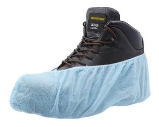 Cubre Zapatos Desechable Color Azul 137291 Surtek