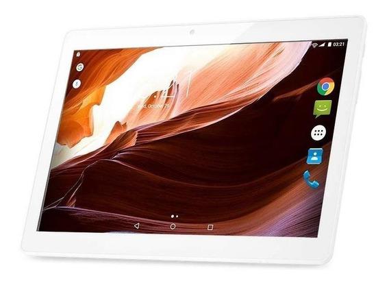 "Tablet Multilaser M10A 3G 10"" 16GB branco com memória RAM 2GB"