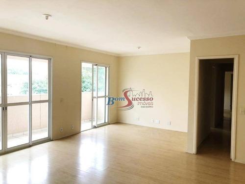 Apartamento Com 3 Dormitórios À Venda, 125 M² Por R$ 1.000.000,00 - Tatuapé - São Paulo/sp - Ap2787