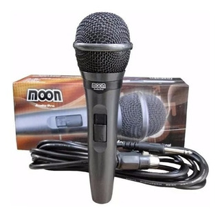 Microfono Moon M23 Dinamico Profesional Con Cable 3,6m Cjf