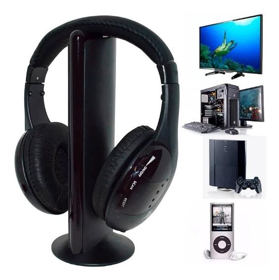 Fone Ouvido S Fio Wifi Fm Tv Pc Jogos Filmes Wireless F70