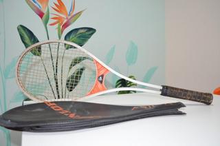 Raqueta Tenis Dunlop Vintage Única