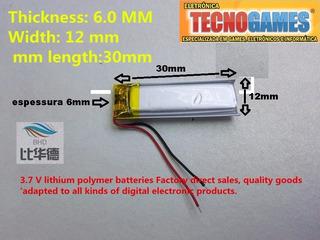 3 Unidades Bateria Para Chaveiro Bluetooth 3,7v 180mah