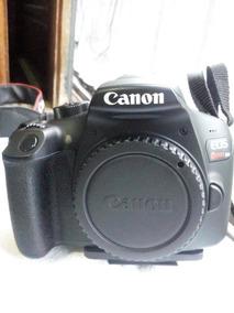 Camera Canon Eos Rebel T6 + 2 Lentes Com Menos De 1 Anos De